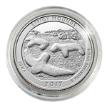 2017 Effigy Mounds National Monument - Denver - Platinum Plated in Capsule