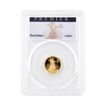 2017 American Eagle $5 Gold - PCGS Premier PR70 - First Edition