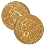 $5 Indian Gold 1908 - 1929 - Uncirculated