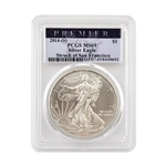 2014 Silver Eagle - San Francisco - Premier - PCGS MS69
