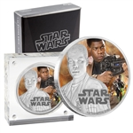 2016 Star Wars - $2 Finn 1oz Silver Coin