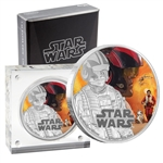 2016 Star Wars - $2 Poe 1oz Silver Coin