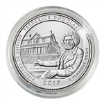 2017 Frederick Douglass National Historic Site - Philadelphia - Uncirculated in Capsule