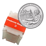 2017 Frederick Douglass National Historic Site - Denver - Uncirculated Roll (40)