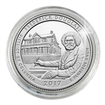 2017 Frederick Douglass National Historic Site - Philadelphia - Platinum Plated in Capsule
