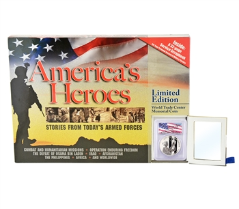 America's Heroes Collection - 2011 Silver 9/11 National Medal - W - PCGS PR69