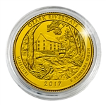 2017 Ozark National Scenic Riverways - Philadelphia - Gold Plated in Capsule