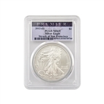 2012 Silver Eagle - San Francisco - Premier - PCGS MS69