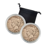1935 Peace Dollar Set - P & S - The End of an Era Lens Set
