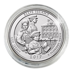 2017 Ellis Island National Monument (Statue of Liberty) - Philadelphia - Uncirculated in Capsule