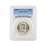 1956 Franklin Half Dollar - Philadelphia - PCGS 64