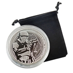 2018 Star Wars 1 oz Silver - Stormtrooper - Uncirculated