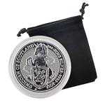 2018 Queen's Beast - 2 oz Silver - Unicorn