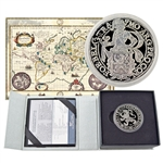 2017 Lion Dollar - 1 oz Silver Proof - Royal Dutch Mint