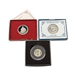 The First Years of Washington 3pc Collection - Quarter & Half Dollar Pair