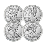 2018 American Silver Eagle - Uncirculated - 4 Pack