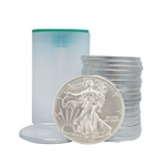 2018 American Silver Eagle - Uncirculated - Roll of 20