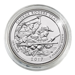 2017 George Rogers Clark National Historical Park - Denver - Uncirculated in Capsule