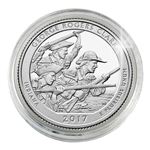 2017 George Rogers Clark National Historical Park - Philadelphia - Platinum Plated in Capsule