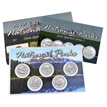 2017 National Parks Quarter Mania Set - Denver - Uncirculated