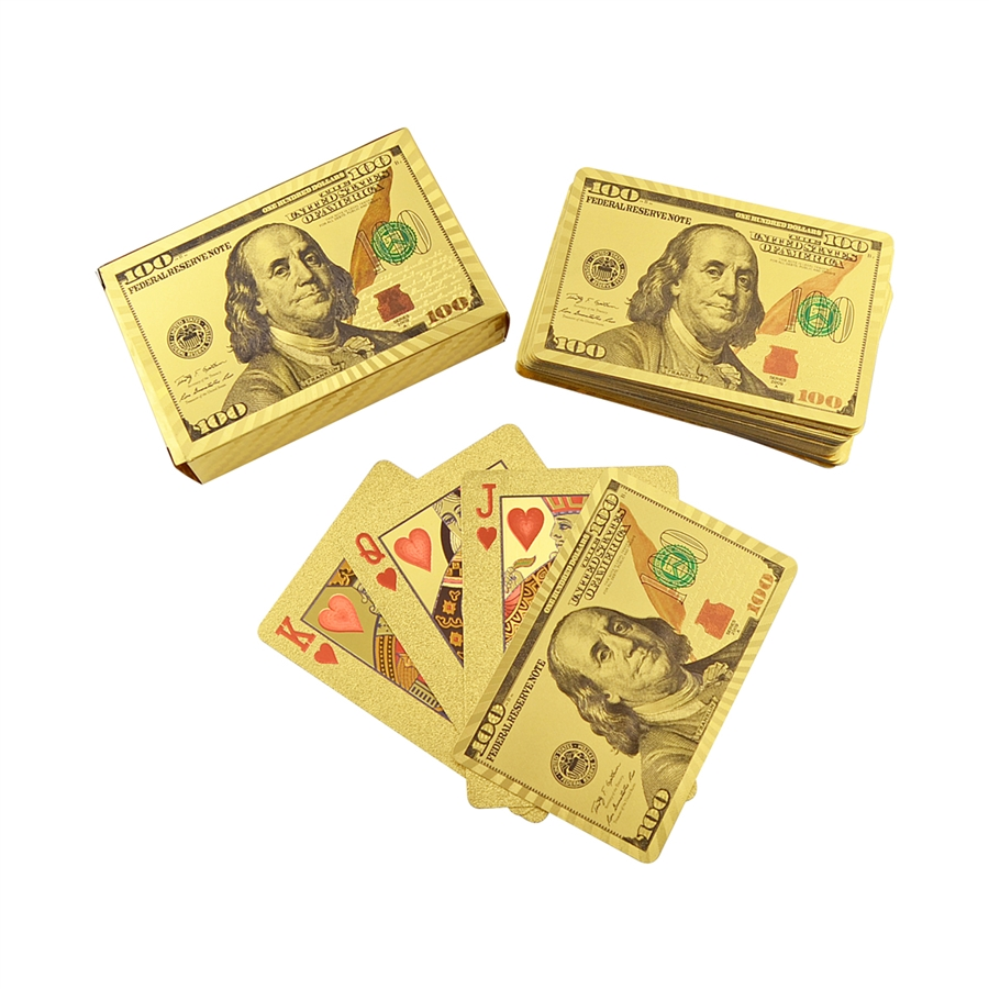 $100 Playing Cards