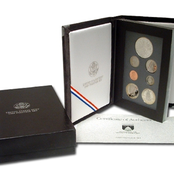 1989 US Prestige Proof Set