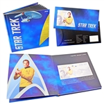 2018 Star Trek James Kirk Silver Currency with Album