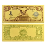 1899 $1 Lincoln & Grant Note - Uncirculated Gold Foil