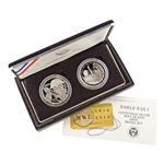 2018 WWI Centennial Silver Dollar & Army Set - Proof