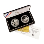 2018 WWI Centennial Silver Dollar & Coast Guard Set - Proof