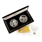 2018 WWI Centennial Silver Dollar & Navy Set - Proof