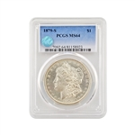 1879 Morgan - San Francisco - PCGS 64 Sight White