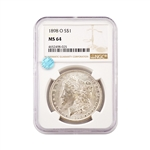 1898 Morgan - New Orleans - NGC 64 Sight White