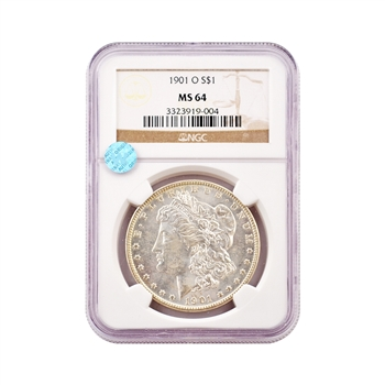 1901 Morgan - New Orleans - NGC 64 Sight White