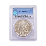 1886 Morgan - Philadelphia Mint - PCGS 64 Sight White