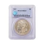 1887 Morgan - Philadelphia Mint - PCGS 64 Sight White