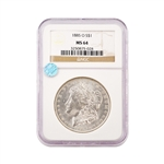 1885 Morgan - New Orleans - NGC 64 Sight White