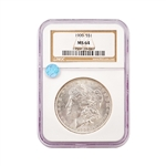 1900 Morgan - Philadelphia - NGC 64 Sight White