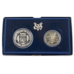 1994 World Cup 2pc Uncirculated Dollar and Half Dollar