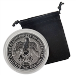 2019 Queen's Beast - 2 oz Silver - Falcon of the Plantagenets