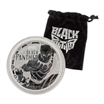 2018 Marvel 1 oz Silver - Black Panther - Uncirculated