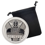2018 Marvel 1 oz Silver - Deadpool - Uncirculated