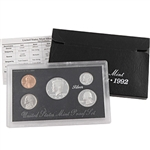 1992 US Silver Proof Set - Modern