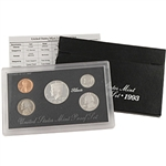 1993 US Silver Proof Set - Modern