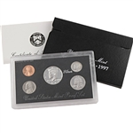 1997 US Silver Proof Set - Modern