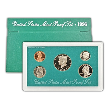 1996 Modern Issue Proof Set