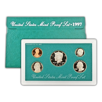 1997 Modern Issue Proof Set