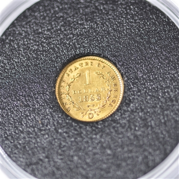 $1 Liberty Gold - New Orleans Mint