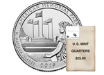 2019 American Memorial US Mint $25 Bag - Philadelphia
