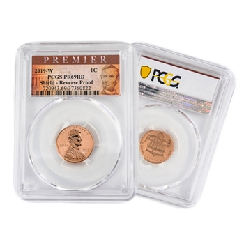 2019 Lincoln Cent West Point Rev Proof - PCGS 69 Premier